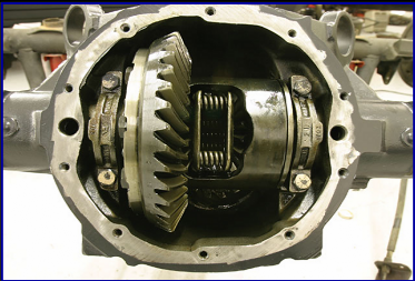 Used Rockwell Differential.